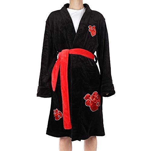Mens Kimono Bathrobe Cosplay Robe Kimono Pajamas Anime Robe Nightwear Sleepwear