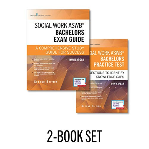 Social Work ASWB Bachelors Exam Guide and Practice Test, Second Edition Set – Includes a Comprehensive LBSW Study Guide and Practice Test Book with 170 Questions, Free Mobile and Web Access Included