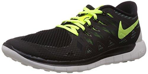 Nike Men's Free 5.0 Black/VLT/Dk MGNT Gry/SMMT Wht Running Shoe 10 Men US