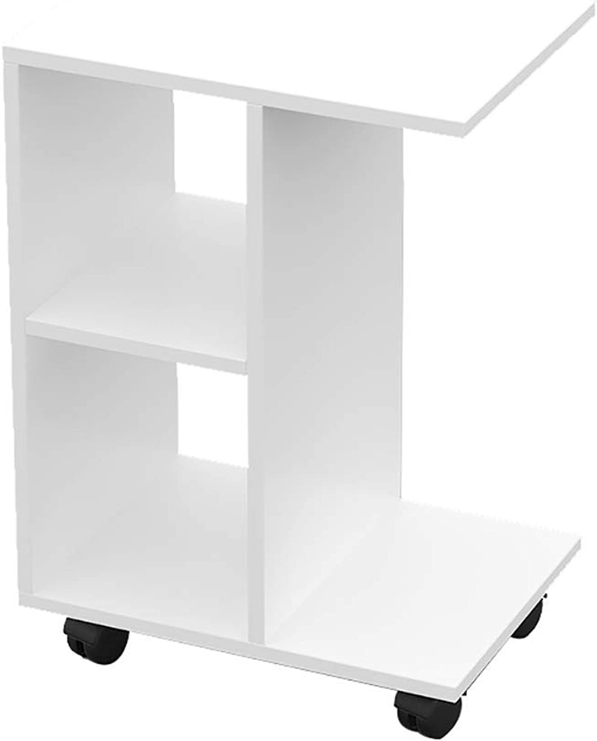 TJTG End Tables Sofa Side can be Moved Small Coffee Table Simple Mini Table Living Room Sofa Side Cabinet Creative Side Table Home Office Desk