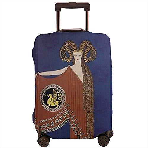 Cubierta de Equipaje de Viaje Aries Diseño de Mujer Protector de Cubierta de Maleta Se Adapta a 22-24 Pulgadas Cubierta de Equipaje de Equipaje