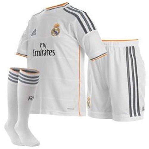 Real Madrid Home 2013/2014 Junior Football Mini Kit, Age 4 Talla 4 años