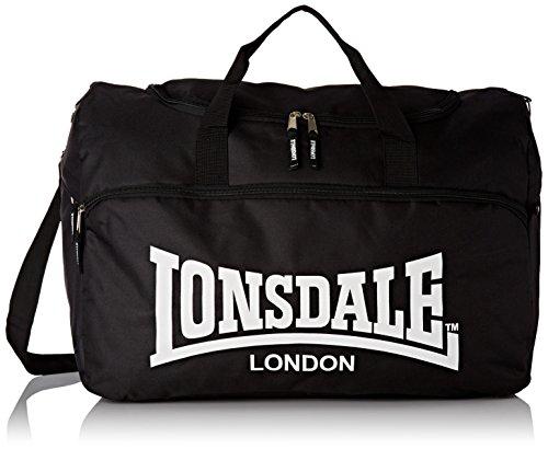 Lonsdale London Tasche Börse Sportbag York, schwarz, 52 X 30 X 30 cm, 113247