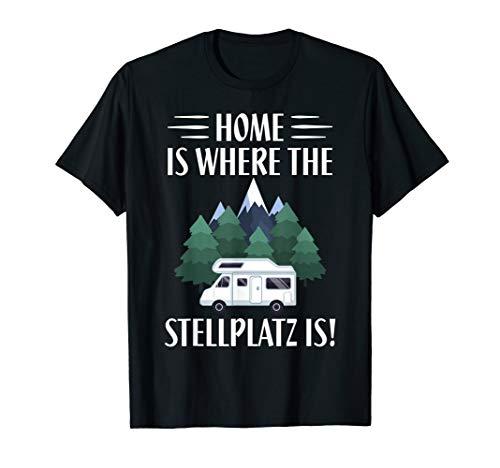 Camper, Campen, Wohnmobil, Campingplatz, Stellplatz, Urlaub T-Shirt