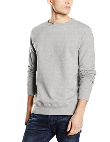 Stedman Apparel Active Sweatshirt/ST5620 Sweat-Shirt, Gris, M Homme