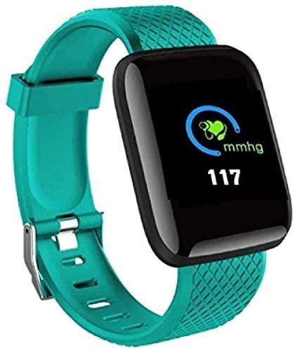 Relojes inteligentes tabla de ritmo cardíaco inteligente muñeca deportes reloj pulsera inteligente hombres y mujeres de IP67 impermeable reloj inteligente