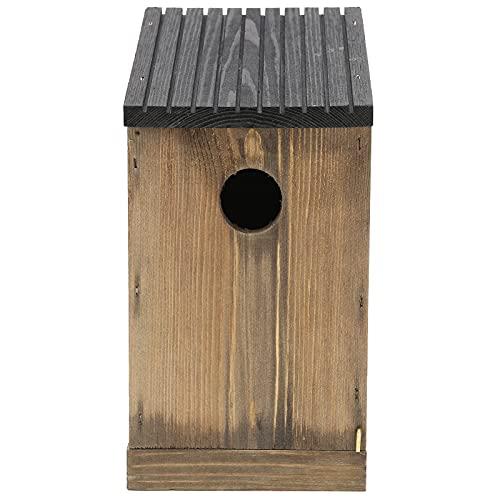 WNSC Caja De Nido De Pájaros, Pajarera, Ventilación Multiusos, Textura Suave, Protección Ambiental Duradera para Patio Trasero, Jardín