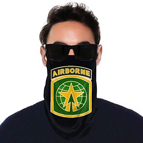 MKDIJIUWL, passamontagna con logo della polizia militare, sciarpa e collo