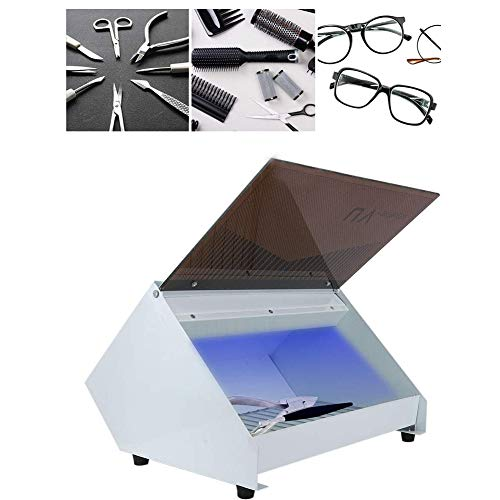 LXT PANDA Sanitizer Instrument & Towel Sterilizer Cabinet, UV Disinfection Box Storage Case Organizer Cabinet Scissors Towel Nail Tools Sterilizer Equipment for Beauty Nail Metal Tools.