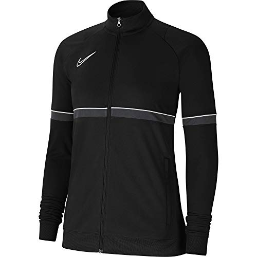 Nike Damen, Women's Academy 21 Track Jacket, black/white/anthracite, CV2677-014, M
