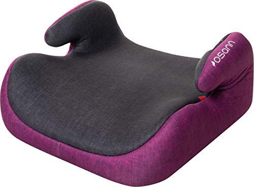 Osann Kindersitzerhöhung Hula Gruppe 2/3 (15-36 kg), Sitzerhöhung Kinder (Purple Melange)