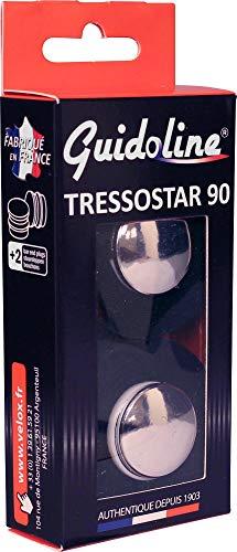 Velox GUIDOLINE® TRESSOSTAR 90 Noir - Noir, La paire