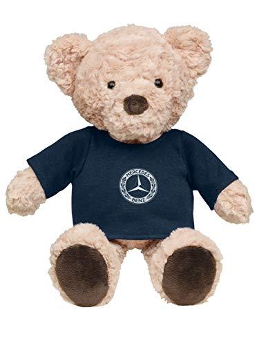 Mercedes-Benz Collection Beiger Plüschbär | Plüschbär aus Polyesterplüsch | Kuschelbär mit Mercedes-Logo | Made by NICI for