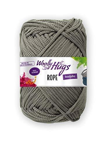 Woolly Hugs Rope Taschengarn (95 dunkelgrau)