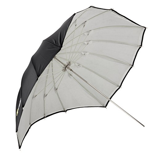 "Angler ParaSail Parabolic Umbrella (White with Removable Black/Silver, 45"""")"""