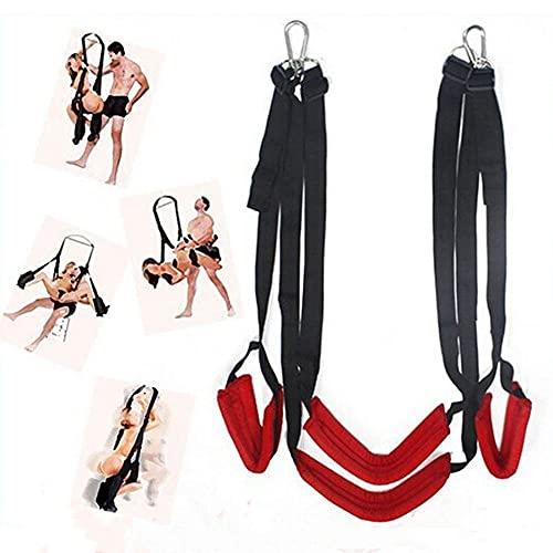 Cinturón de Entrenamiento de Yoga aéreo con Swing de Nailon Suave