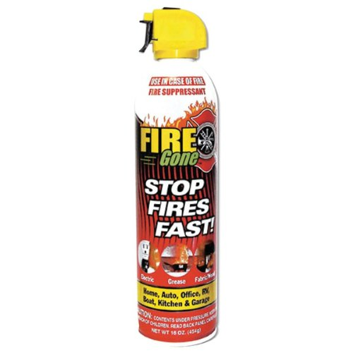 FIRE GONE FG-007-102 Fire Suppressant