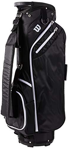 Wilson Herren W CART Golftaschen, BLACK, One size