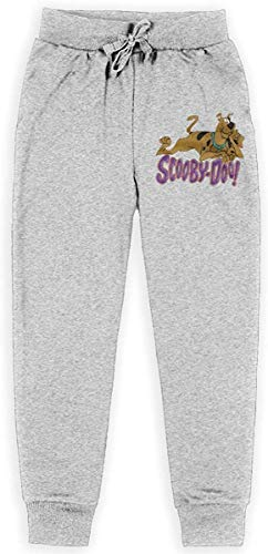 uyruyeue Scooby DOO Kids' Soft Casual Pull-On Jogger Sweatpant with Pockets for Boys Or Girls XL