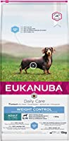 Slim: 40% less fat than Eukanuba medium breed adult diet Mighty: Helps reduce body fat while preserving lean muscle with L-carnitine Dental: Clinically proven to reduce tartar build-up in 28 days. Reduces plaque and maintains strong teeth Defend: Hel...