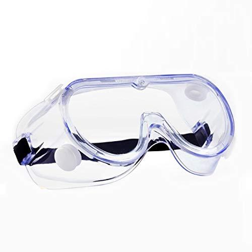保護メガネ ゴーグル 曇り止め 防曇 防塵ゴーグル 防塵メガネ 軽量 透明 オーバーグラス 保護用アイゴーグル ゴーグル 作業用保護 火山灰対策 眼鏡着用可