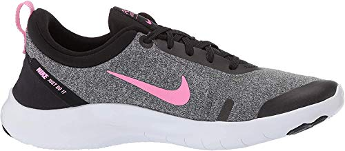 Nike Women's Flex Experience Run 8 Shoe, Pure Platinum/Psychic Pink/Black, 12 Regular US