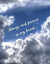 Always and Forever in My Heart: Grief Journal for Men/Teenage Boys (Mourning/Bereavement With Hope To Continue to Communicate and Share With Loved One) (Uplifting Supportive Funeral/Memorial Gifts)