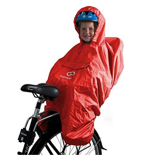 HAMAX regenbescherming fietszitje regencape kinderen fiets regenbescherming kinderzitje fiets