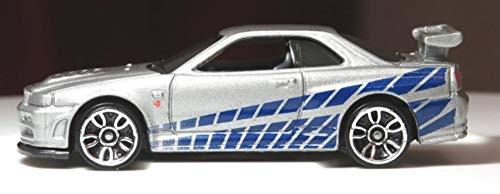 Hot Wheels Nissan Skyline GT-R (R34) - 2FAST 2FURIOUS - (Long Card)