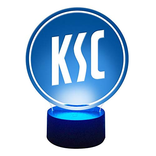 Karlsruher SC Fanartikel KSC LED Nachtlicht Lampe