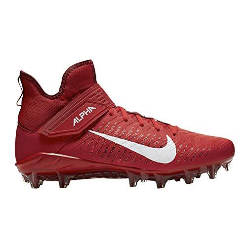 Nike Alpha Menace Pro 2 Mid Herren Aq3209-600, Rot (University Red/White-Team Red), 47 EU