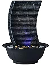 Indoor Fountains Tabletop Fountains Rockery Table Fountain, Indoor Fountain With Crystal Ball, Table Decoration Fountain Suitable for Living Room, Office, Tea Room Home Décor Tabletop Indoor Fountain