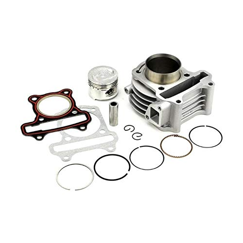 FUBANGBM Big Bore Kit Cylinder Piston Rings Fit For GY6 50cc 60cc 100cc 4 Stroke Scooter Moped ATV (Color : 44mm)