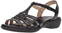 Black sandals from Naturalizer for women