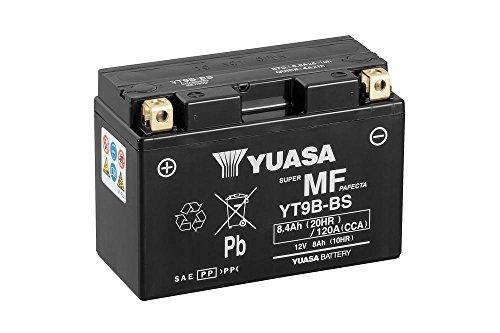 Batteria YUASA YT9B-4, BS, 12V/8AH (dimensioni: 150X 70X 105) per Yamaha MT 03anno 2012