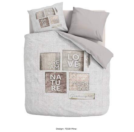 Promo Linge - Juego de Funda nórdica de 220 x 240 cm y 2 Fundas de Almohada de 63 x 63 cm, 100% algodón, Mina: Amazon.es: Hogar