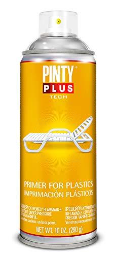 PINTYPLUS TECH 295 Imprimación plásticos Spray 520cc Transparente I199, Único, Estándar