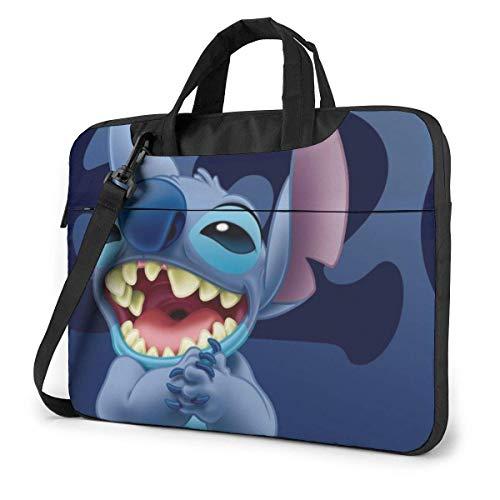 Dibujos Animados Lilo Stitch Laptop Bag Tablet Maletín Funda Protectora portátil Funda 14 Pulgadas LAPT-3468
