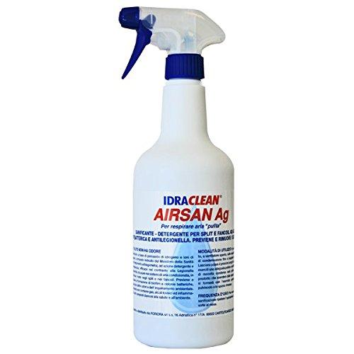 FORIDRA serie IDRACLEAN AIRSAN Ag I.AIRSB Pulizia e sanificazione impianti aria condizionata 0,75 lt