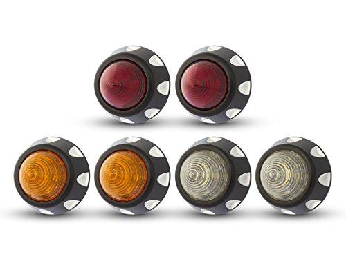 Projet LED Voiture Arrêter & Feux Arrière, Clignotants & Lampe Marche Arrière Billet Alliage X 6