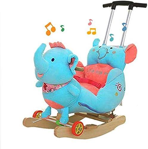 alta calidad JTYX Silla Silla Silla de Madera para Niños Caballo Mecedora para bebés Mecedora para bebés de Madera Maciza con música Mecedora para Niños Regalo de cumpleaños  alta calidad general