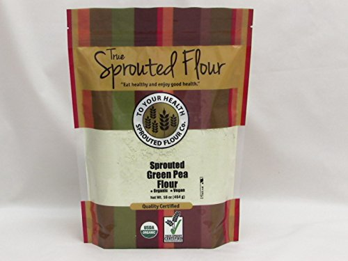 5 lb. Organic Sprouted Green Pea Flour