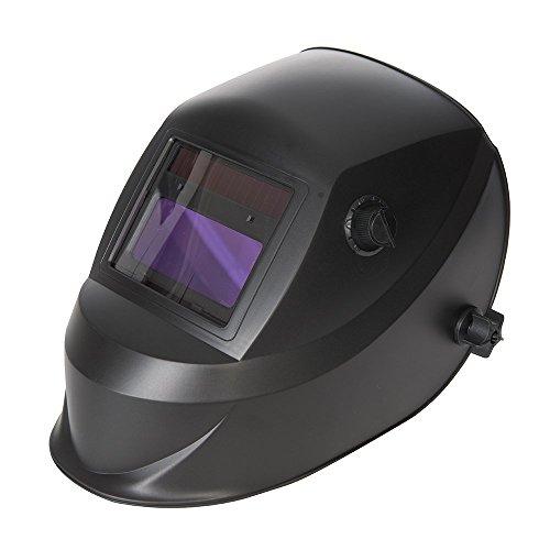 Silverline 757060 Máscara para Soldar y Amolar Fotosensible, Opacidad 4/9-13 E W y Amolar