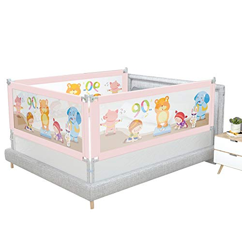 Why Should You Buy LIANGJUN Toddler Tall Bed Rail Guard Protection Baby Anti-Fall Vertical Lift Safe...