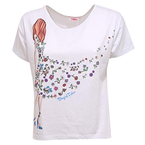 BLUGIRL 5672X Maglia Over Donna White Folies t-Shirt Woman [42]