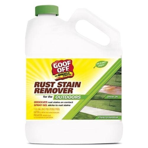 Goof Off GSX00101 1 Gallon Rust Stain Remover (Pack of 2)