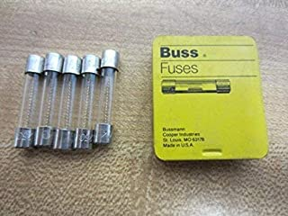 BUSSMANN BY EATON AGC-4-R FUSE, CARTRIDGE, 4A, 6.3X32MM, FAST ACT (5 pieces)