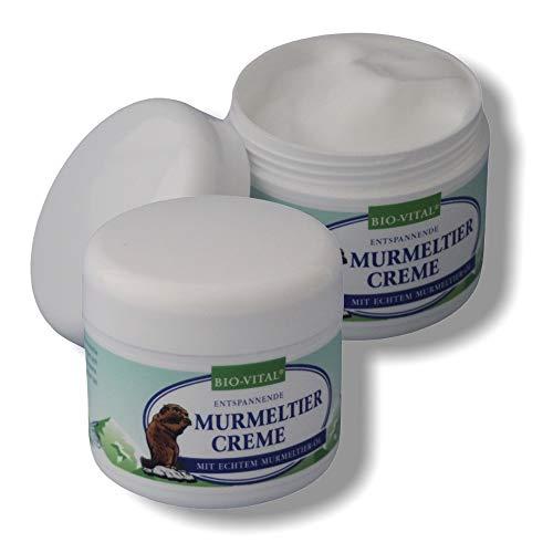 2X 250ml Murmeltiersalbe mit echtem Murmeltieröl, Murmeltierfett, Massageöl, Murmeltier Öl, Fett, Creme, Balsam für Massage