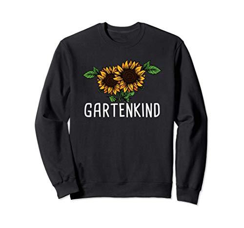 Sonnenblume Landschaftsgärtner Garten Gärtnerin Gartenkind Sweatshirt