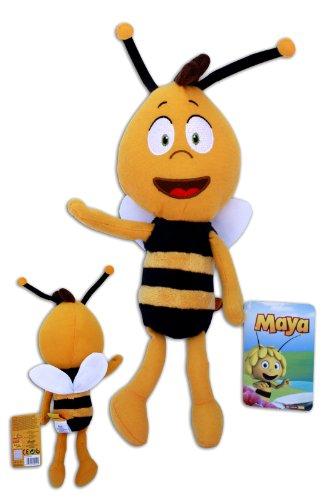Willi 30cm Plüsch Bienenjunge Maya Biene Stofftier Puppe Bee Neue TV Serie 3D Weich Soft